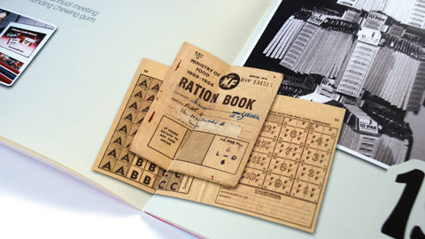 Wrigley – Ration books