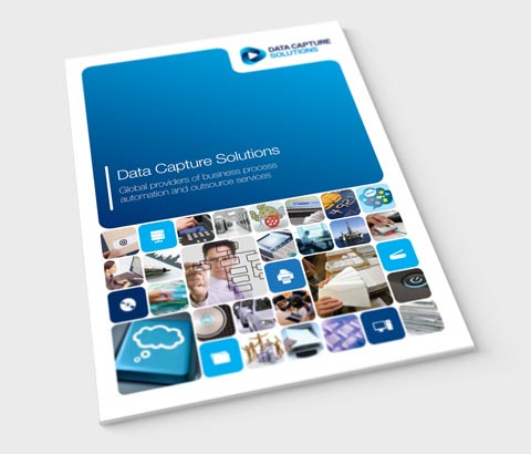 modern, iconic identity for Data Capture Solutions