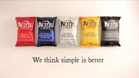 Kettle Chips advert