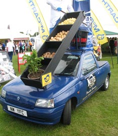 Kettle Chips van