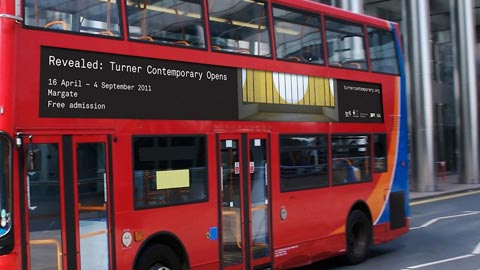 Turner Contemporary – London bus