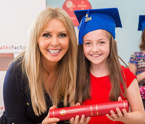 The maths factor - carol vorderman - westgate - PR