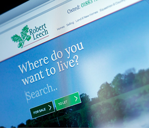Robert Leech Website Design
